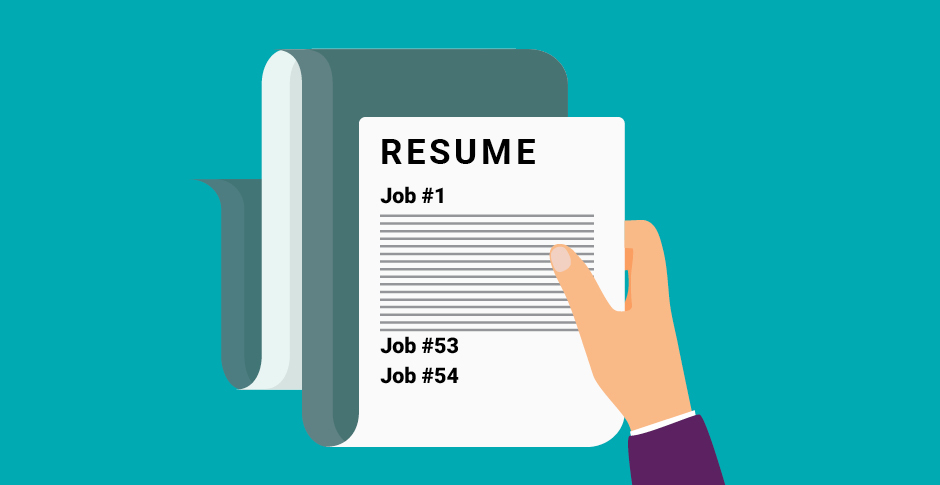 Can you have too many jobs on your resume?