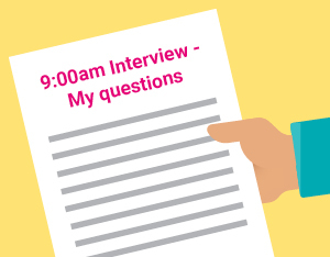 The best questions to ask at the end of your interview