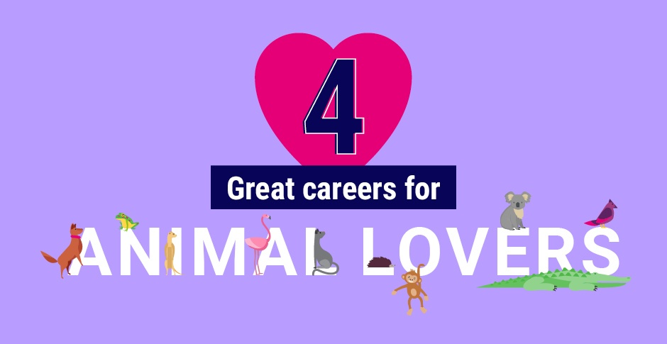 Love animals? Here are 4 career ideas for you