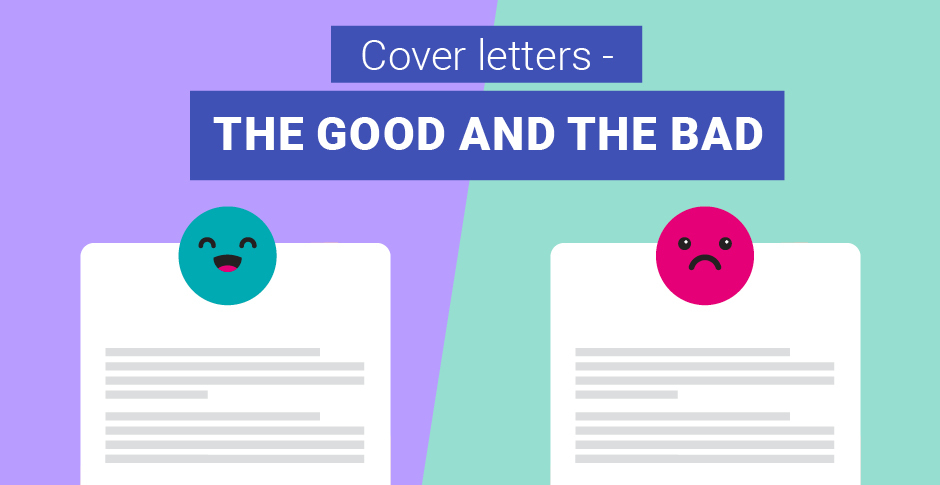 Cover letters: The good and the bad