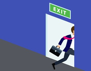 Why do employees leave jobs?