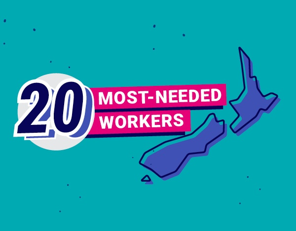 New Zealand's top 20 most-needed workers